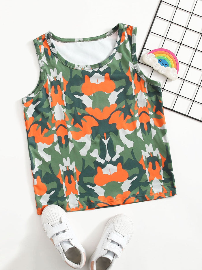 Girls All Over Print Tank Top