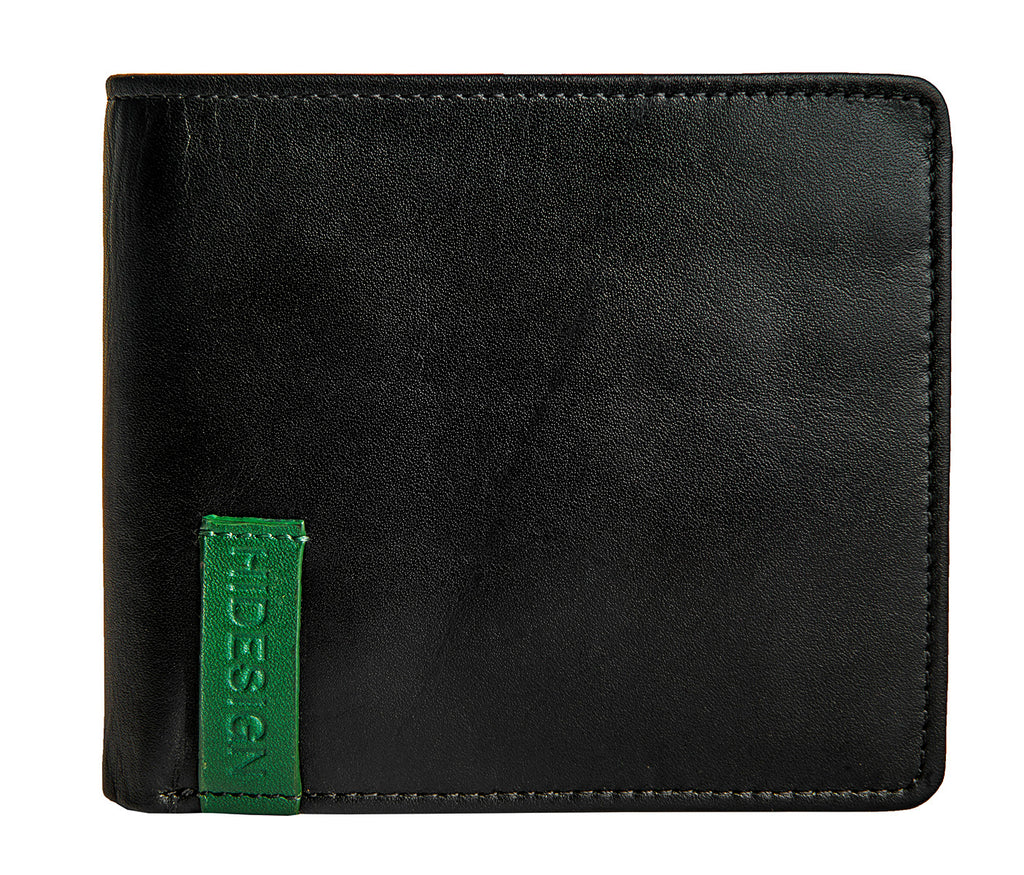 Best Leather Wallets - Hidesign Dylan 04 Leather Slim Bifold Wallet