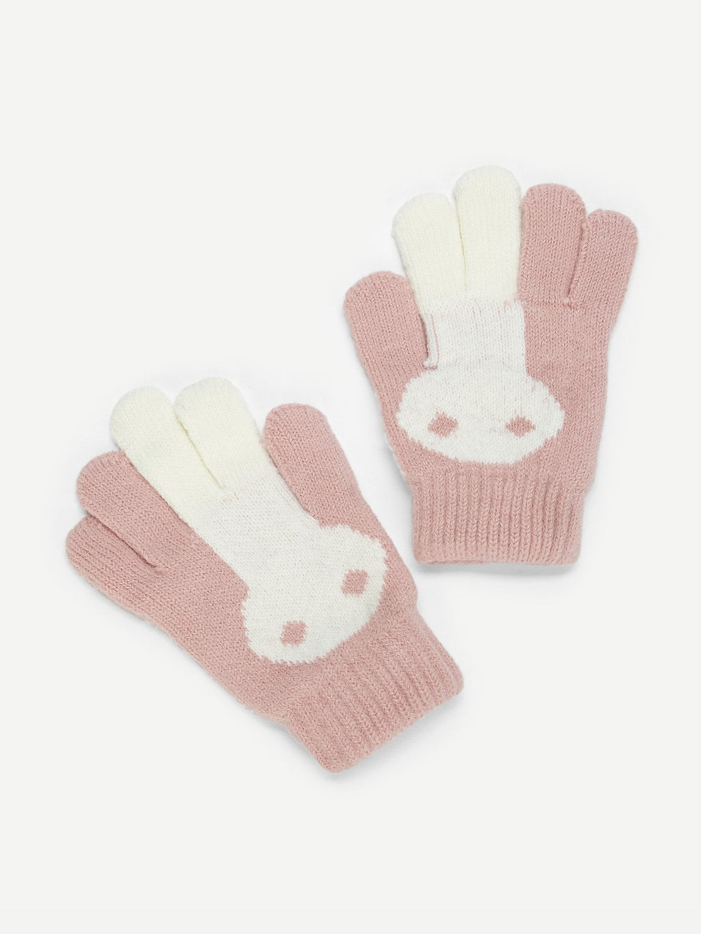 Girls Gloves -  Knit Gloves