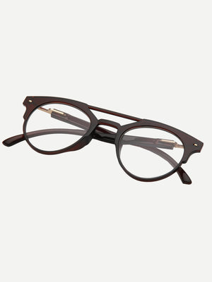 Men's Glasses - Double Bridge Glasses