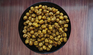 Roasted Kabuli Chana ( Mari Masala )