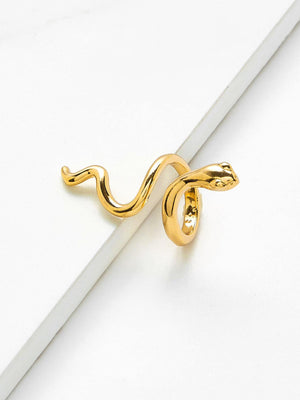 Fashion Rings - Smooth Snake Design Ring