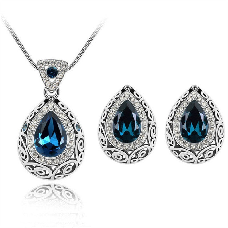Bridal Jewelry - Rhinestone Gemstone