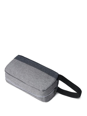 Men's Bags - Two Tone Nylon Clutch Bag