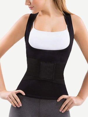Waist Trainer - Cincher,  Girdle With Vest Set 2pcs