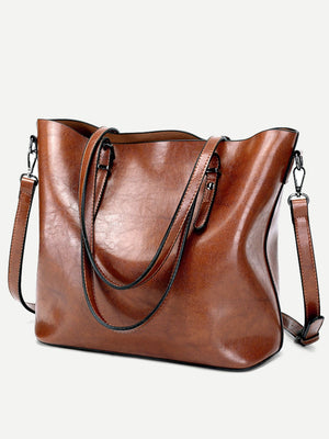 Bags For Women - Buckle Decor Tote Bag