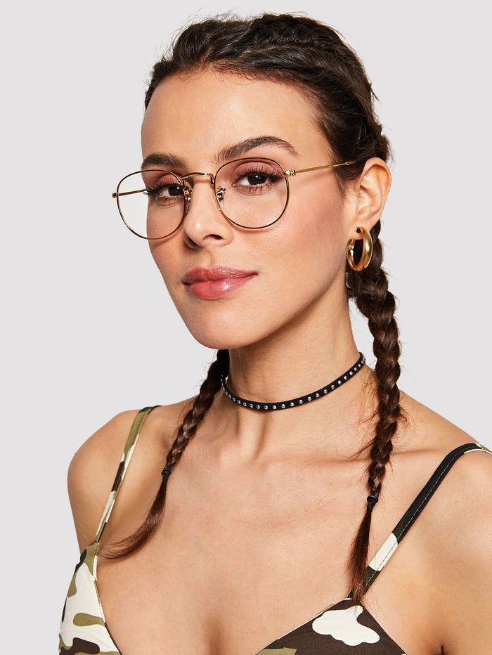 Glasses For Women - Metal Frame Glasses