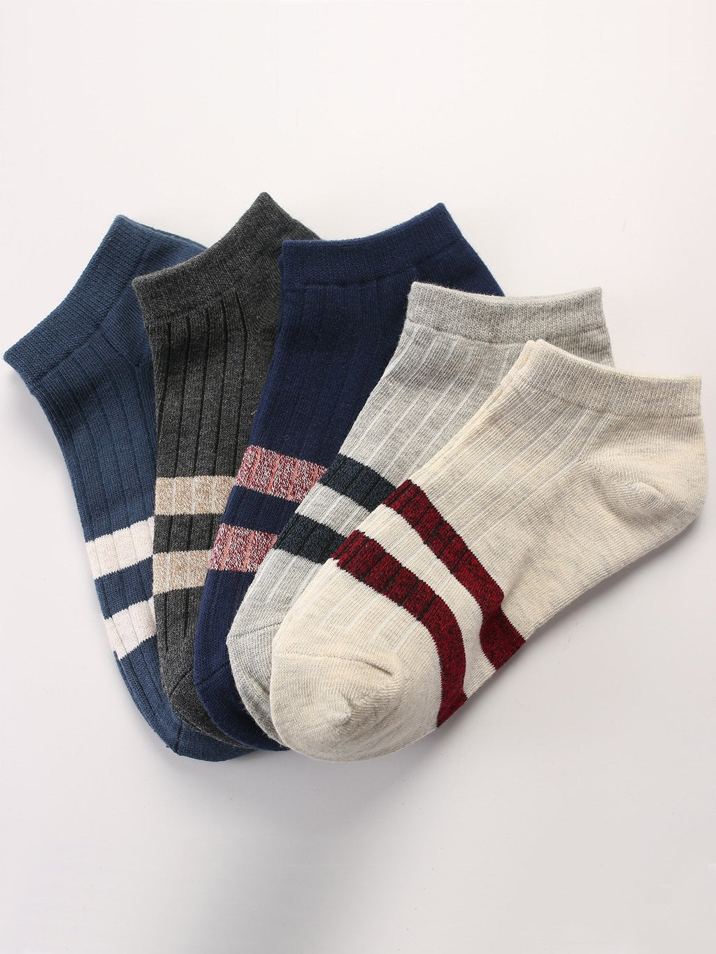 Men's Socks - Striped Socks 5pairs