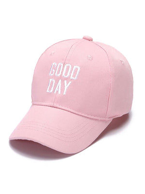 Kids Caps - Girls Embroidered Letter Baseball Cap