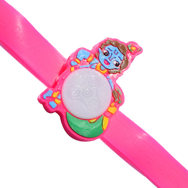 Kids Rakhi - Krishna Rakhi - Multiple Lights
