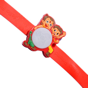 Kids Rakhi - Chota Bheem And Kaliya Rakhi - Multiple Lights