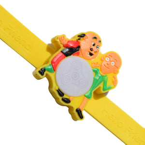 1 Rakhi - Motu Patlu Multiple Lights Rakhi
