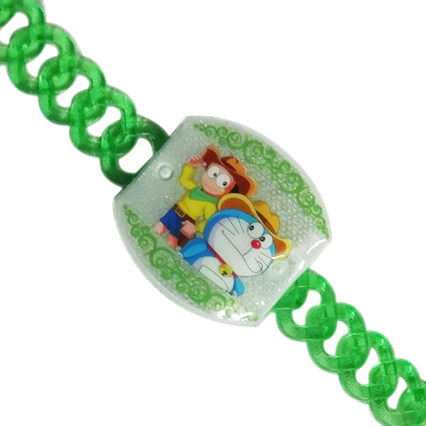 1 Rakhi - Doraemon Belt Rakhi Wtih Lights