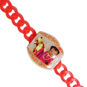 1 Rakhi - Chota Bheem Belt Rakhi With Lights