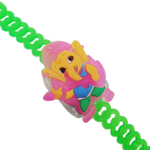 Kids Rakhi - Ganpati Rakhi With Kirtan Sound and Lights
