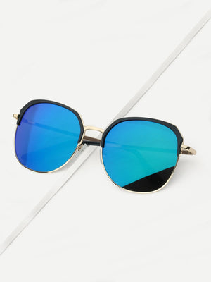 Driving Sunglasses - Men Mirror Lens Sunglasses