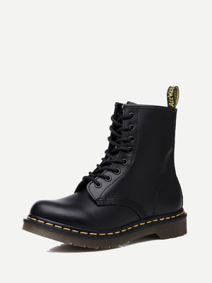 Men's Fashion Boots - Lace-up Martin Boots