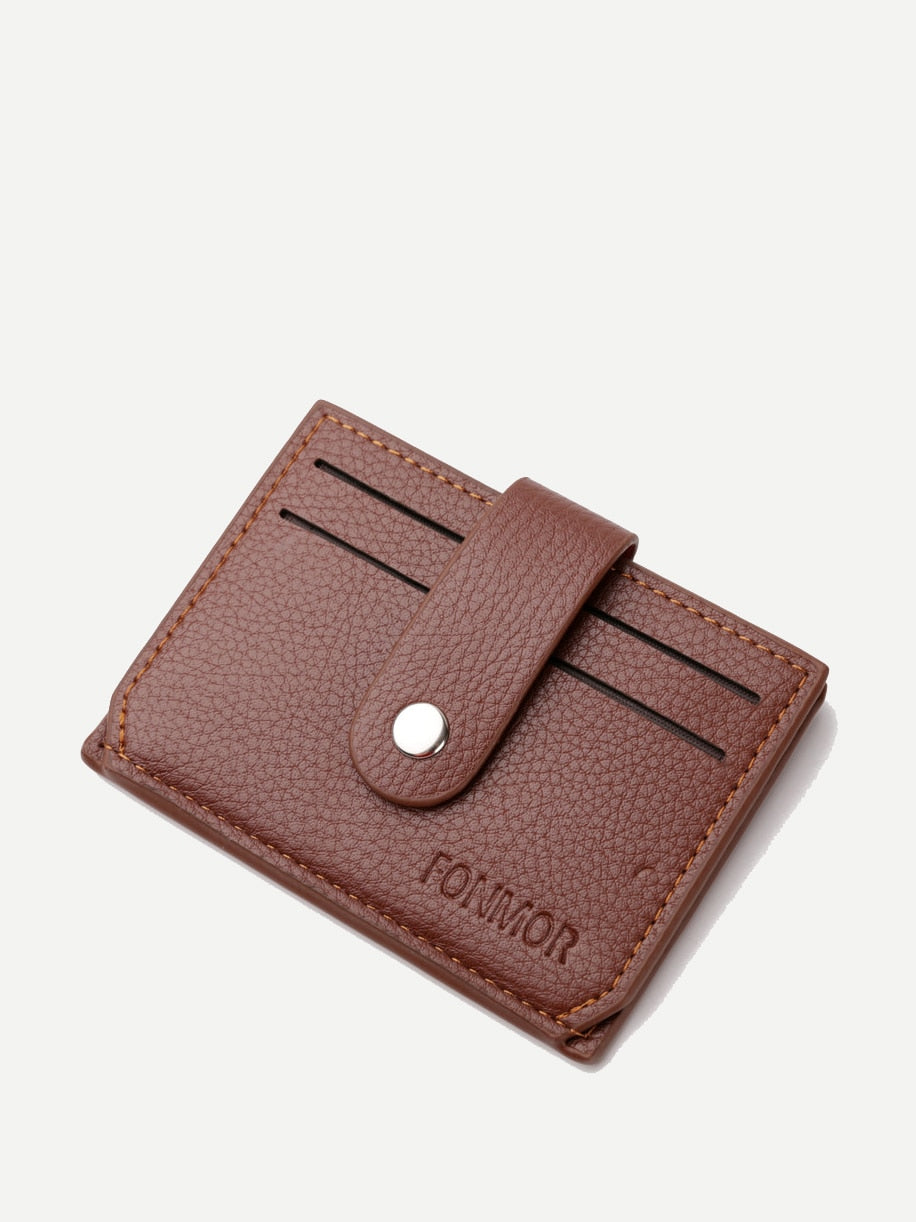Wristlets - Textured PU Card Holder
