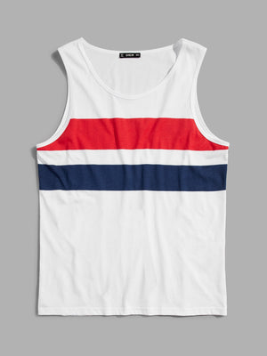 Men's Tank Tops - Cut and Sew Tank Top