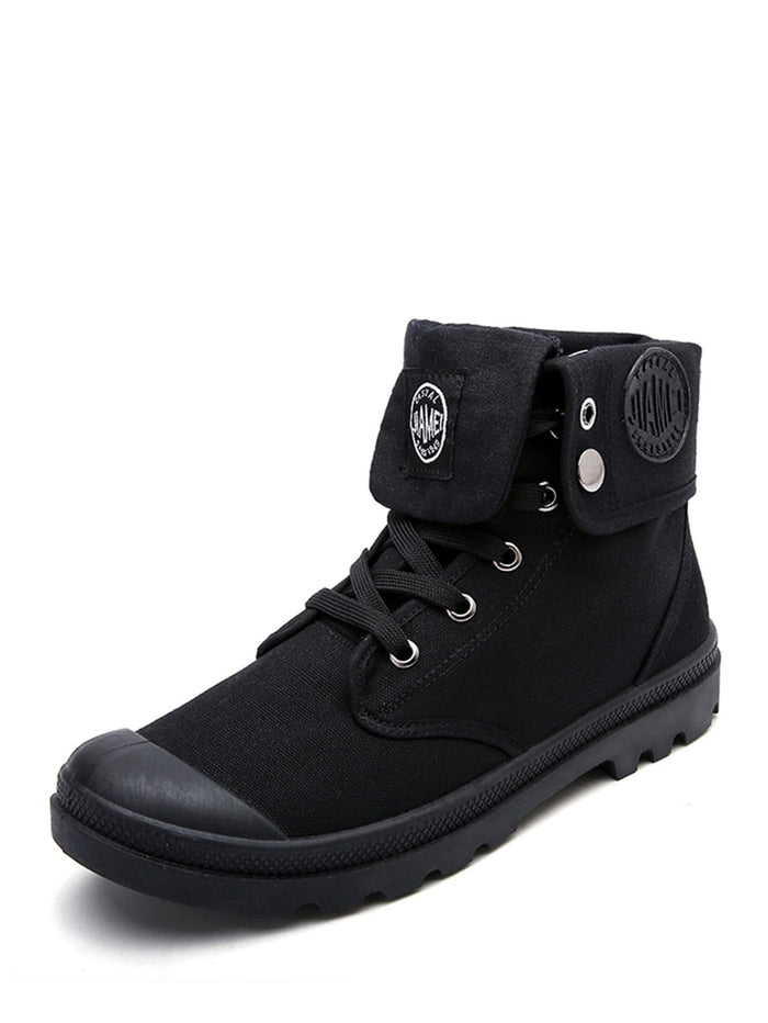 Men's Sneakers - Lace Up High Top Sneakers