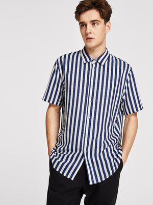 Men's Formal Shirts - Striped Shirt