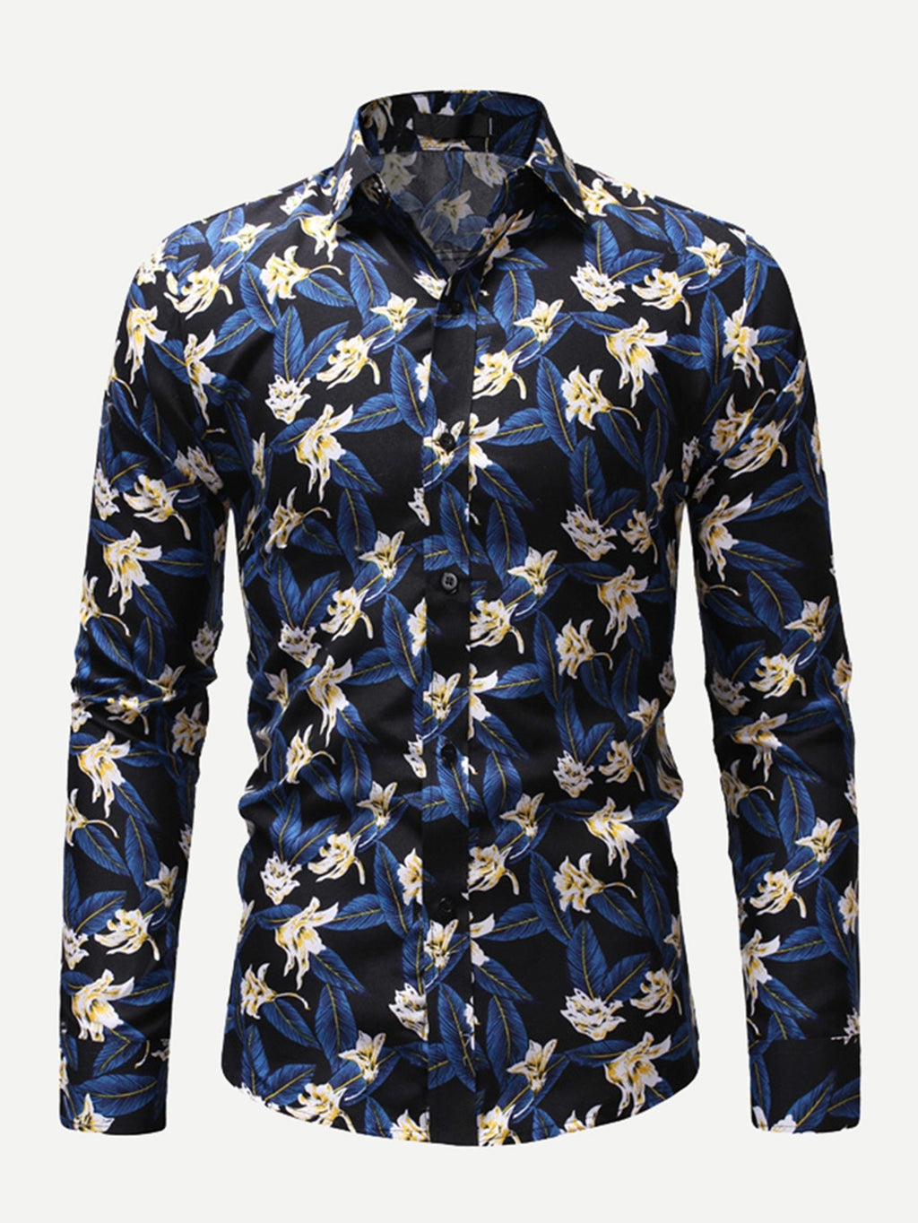 Party Shirts For Men - Floral Print Shirt
