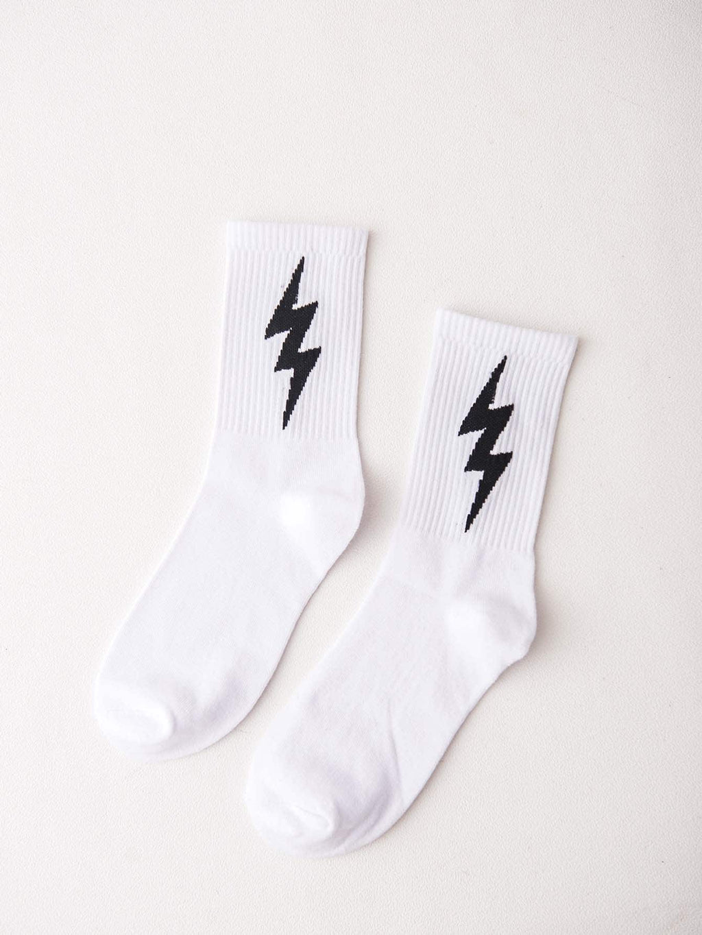 Men's Socks - Lightning Print Socks 1pair