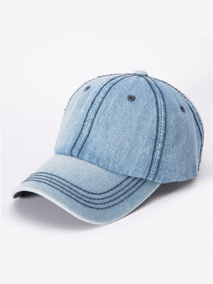 Men's Caps - Denim Baseball Cap