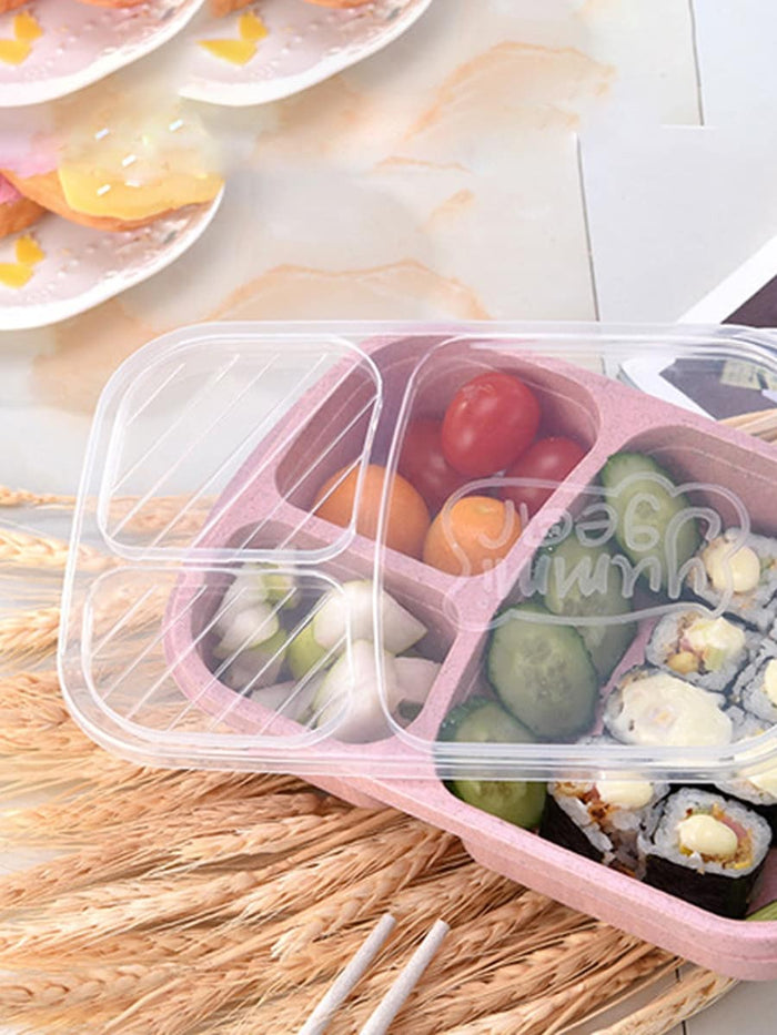 Kids Lunch Box - 3 Compartment Lunch Box