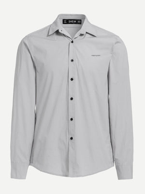 Men's Formal Shirts - Solid Buttoned Shirt