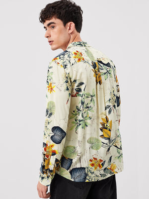 Holiday Shirts For Men - Tropical Print Shirt