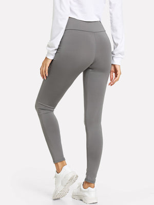 Leggings - Wide Waistband Solid