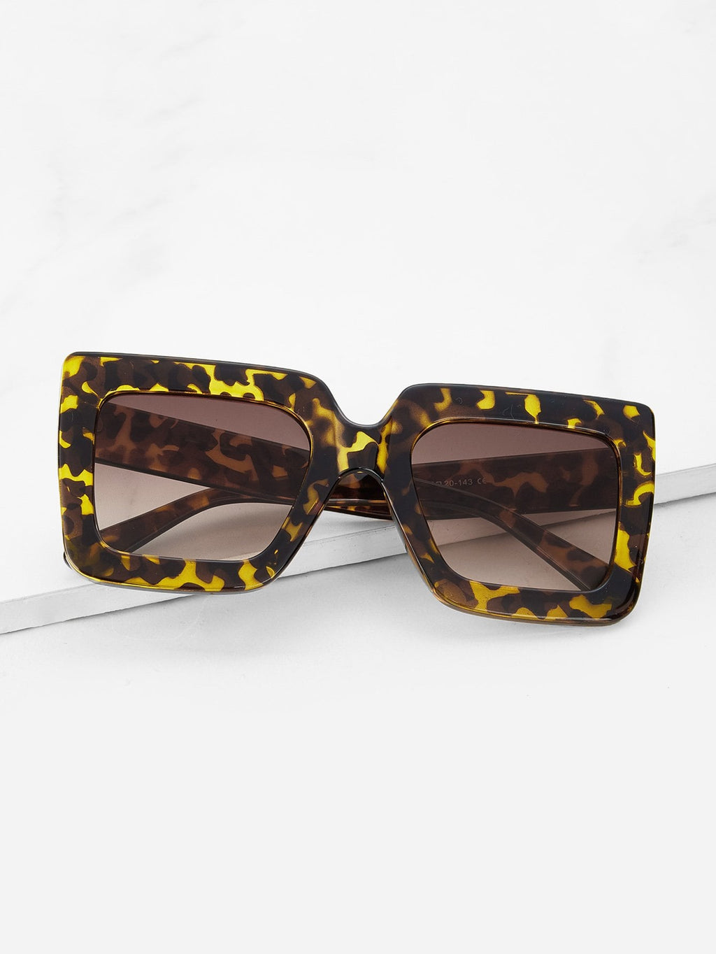 Cheap Sunglasses - Leopard Frame Sunglasses