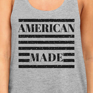 American Made Cute Womens Racerback Tank Top Gifts For Army Wives
