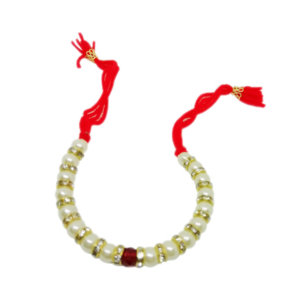 Fancy Lumba Rakhi - American Diamond Rakhi For Girls