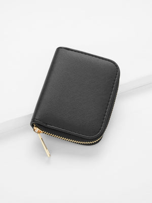 Wallets For Women - Zipper Around PU Purse