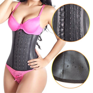 Body Shaper For Women -  LATEX Waist Trainer Corset