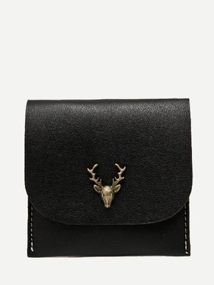 Wallets For Women - Metal Deer PU Wallet