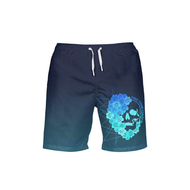 Men's Trunks - Men's FYC UPF 40+ Ocean Outlaw Beach Shorts