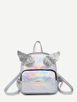 Handbags - Angel Wings Decor Backpack