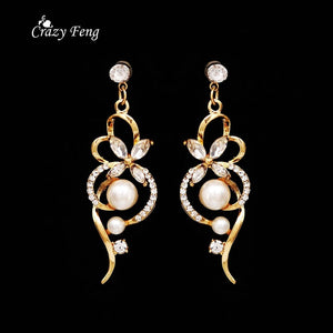 Jewelry Sets For Women - Pearl Jewelry Crystal Wedding Accessories