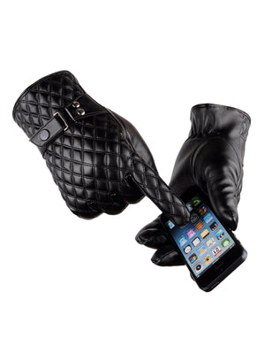 Men's Gloves - Argyle Gloves 1pair