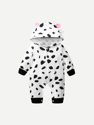 Toddler Boy Jumpsuits - Allover Spot Jumpsuit