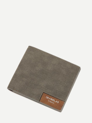 Men's Wallets - Minimalist Fold Over Wallet