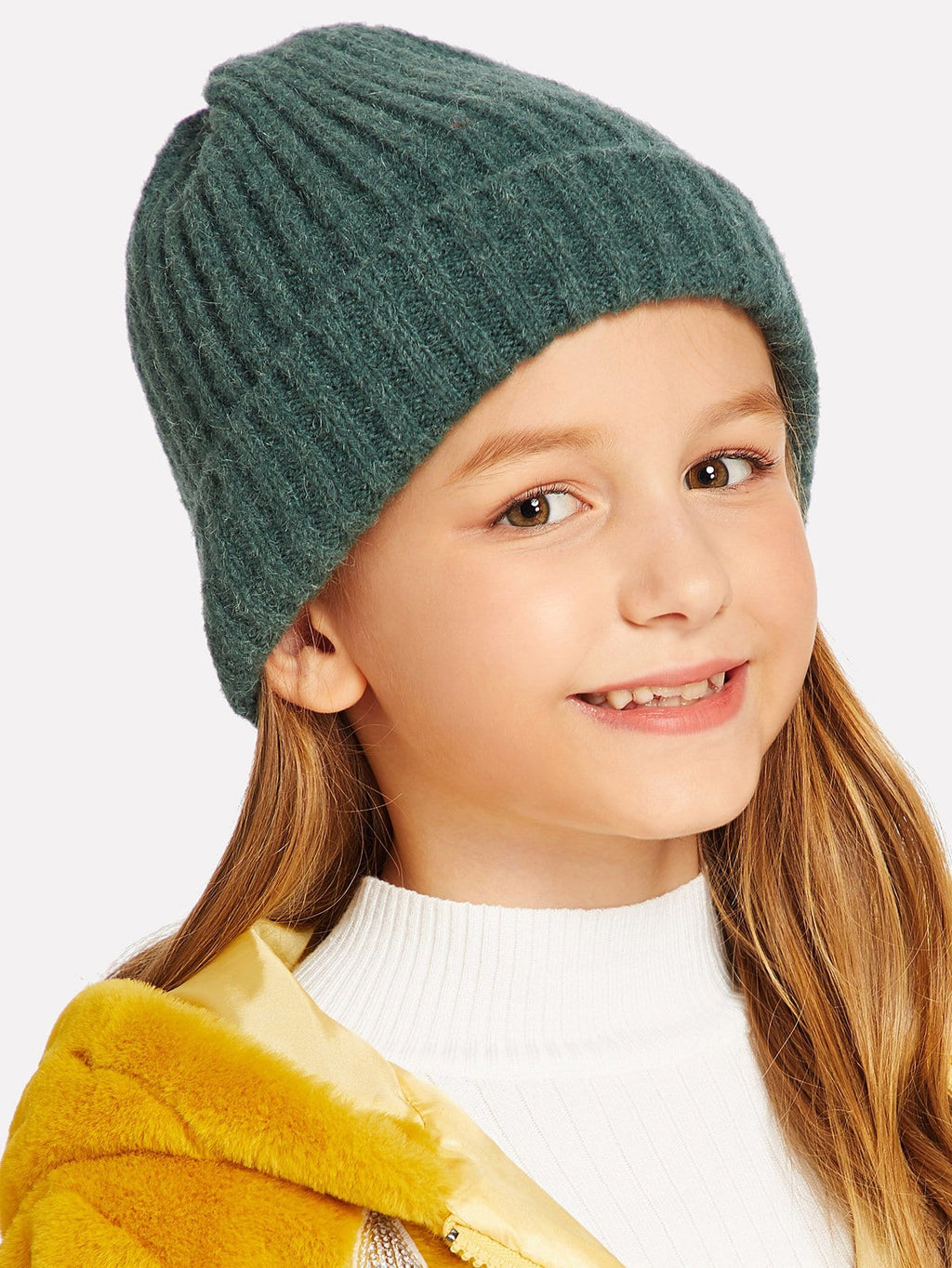 Girls Hats - Plain Beanie Hat