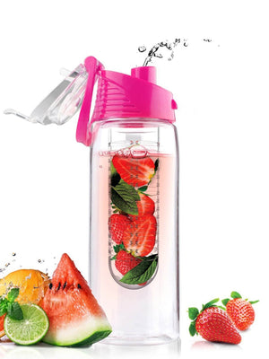 Water Bottle For Kids - Fruit Infuser Water Bottle 800ML