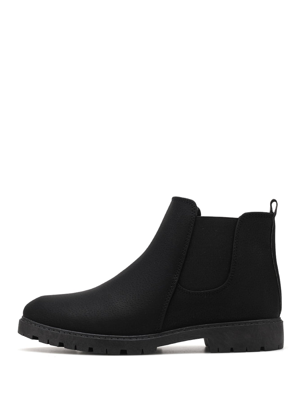 Men's Fashion Boots - Slip On Chelsea Boots