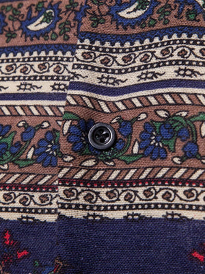 Party Shirts For Men - Paisley Print Shirt