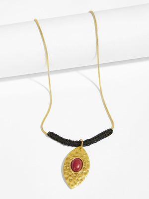 Necklaces - Eye Design Pendant Necklace