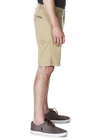 Khaki Shorts For Men - Men's Khaki Chino Short